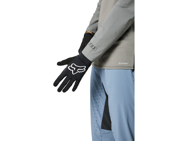 Fox Flexair Foxhead Gloves Men, black